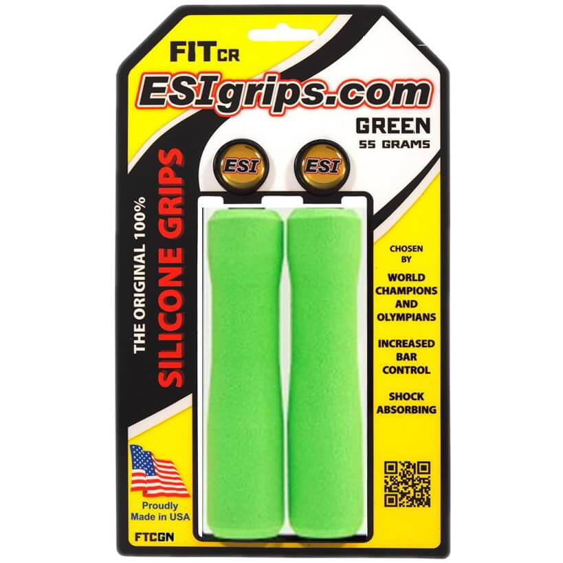 ESI Fit CR 130mm Silicone Grips - TheBikesmiths