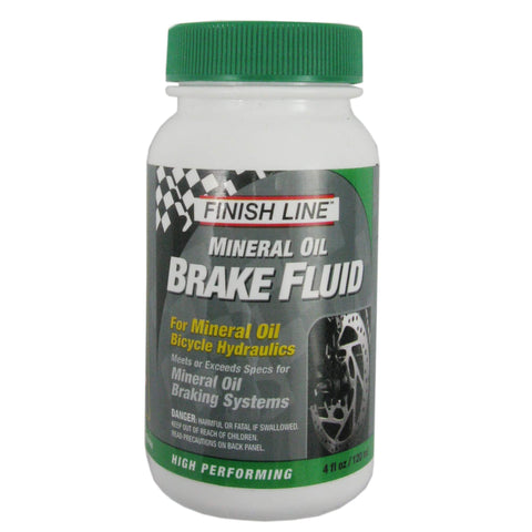 Image of Finish Line Performance Mineral Oil 4oz Hydraulic Disc Brake Fluid - TheBikesmiths