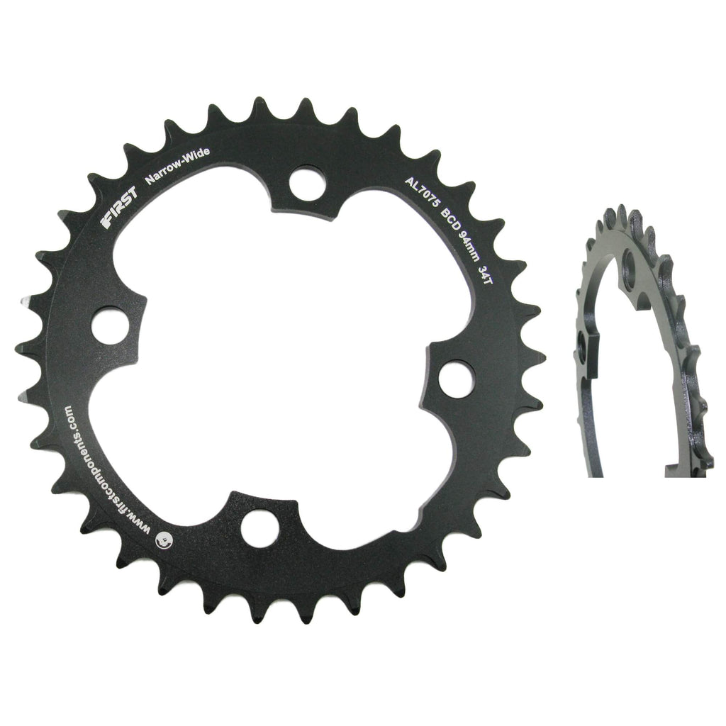First Components R-MXX2 Narrow Wide 94mm BCD Chainring - TheBikesmiths