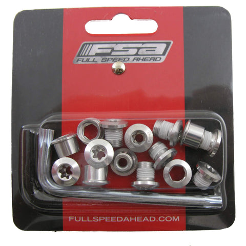 Image of FSA Alloy Torx Singlespeed Chainring Bolts (10pcs)