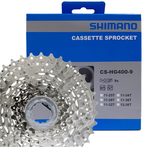 Shimano Alivio CS-HG400 9-Speed Cassette