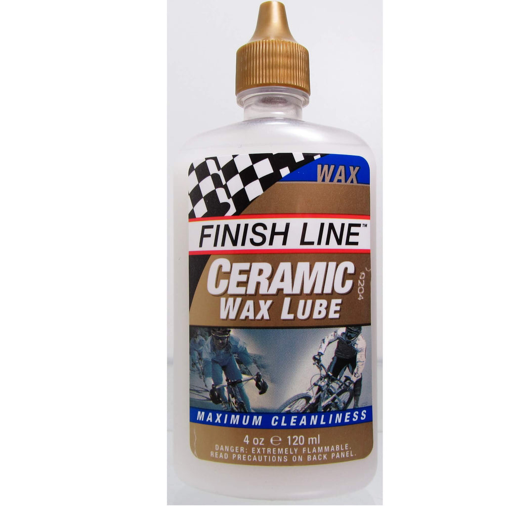 Finish Line Ceramic Wax 4oz Lube - TheBikesmiths