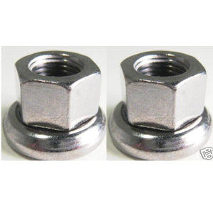 Formula Track Front 9mm Axle Nut - 2 Pieces - TheBikesmiths
