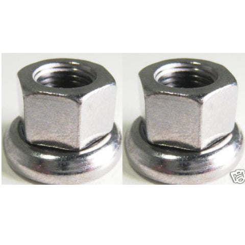 Formula Track Front 9mm Axle Nut - 2 Pieces