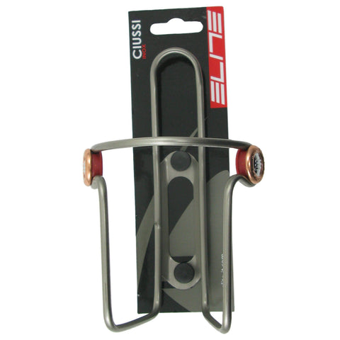 Elite Ciussi Inox Stainless Steel Water Bottle Cage - TheBikesmiths