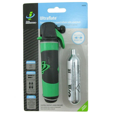 Genuine Innovations G20310 Ultraflate Plus Co2 Inflator w-20g Cartdridge - TheBikesmiths