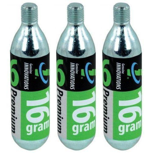 Genuine Innovations G2149 16g CO2 Threaded Cartridge - TheBikesmiths