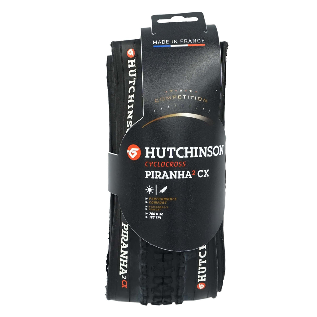 Hutchinson Pirahna-2 CX 700x32c Folding Tire - Single - TheBikesmiths