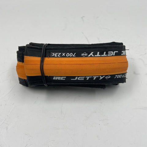 IRC Jetty Plus Folding Tire ORANGE 700x23 - TheBikesmiths