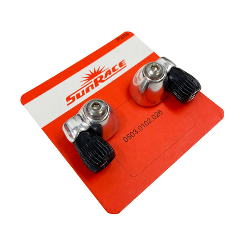 Image of Sunrace SP131 Downtube Cable Stop Set