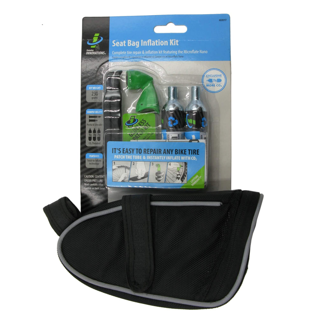 Genuine Innovations G20317 Tire Repair Kit w-Seat Bag