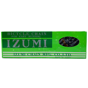 "Izumi #11 Black Easy Running Single Speed Black Chain 1/2x1/8"" Single Speed"