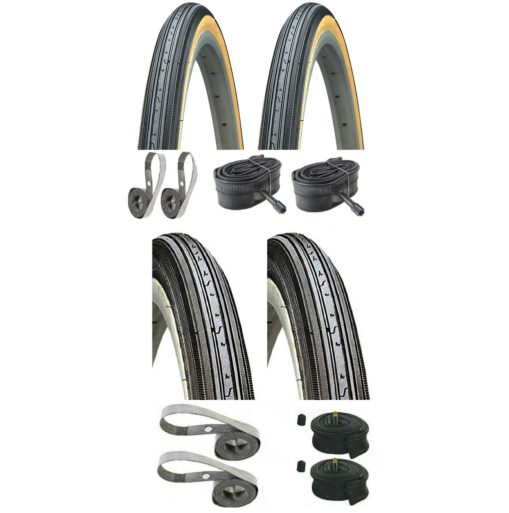 Kenda K34 27x1-1/4 Tire-Tube Kit