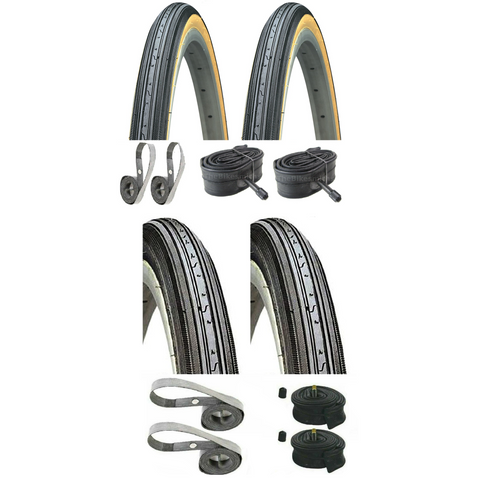 Image of Kenda K34 27x1-1/4 Tire-Tube Kit