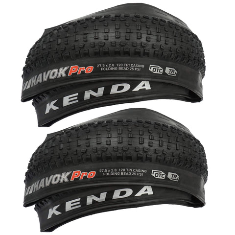 Image of Kenda K1184 Havoc Pro 27.5x2.80 DTC Tubeless Ready Folding Tire