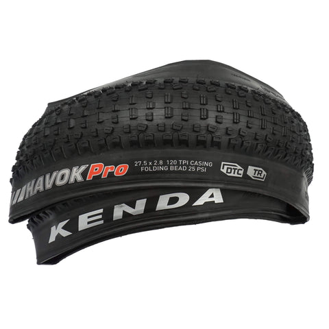 Kenda K1184 Havoc Pro 27.5x2.80 DTC Tubeless Ready Folding Tire
