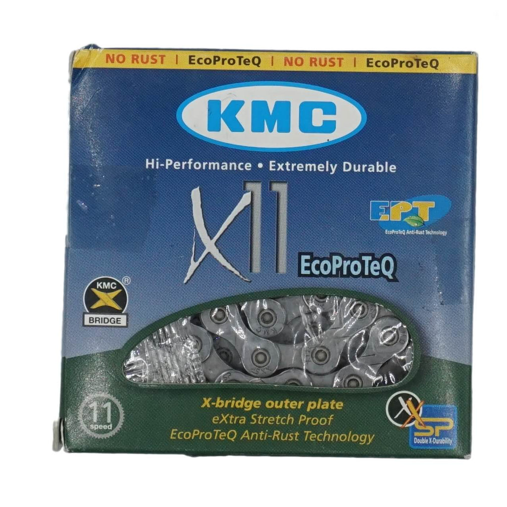 KMC X11EPT Eco ProTeq 11 Speed Chain - TheBikesmiths