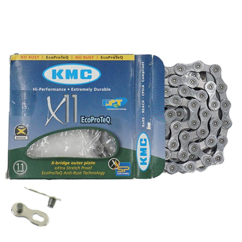 Image of KMC X11EPT Eco ProTeq 11 Speed Chain - TheBikesmiths