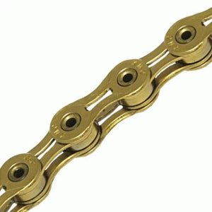 KMC X11SL Gold Ti-N 11 Speed Gold Chain - TheBikesmiths
