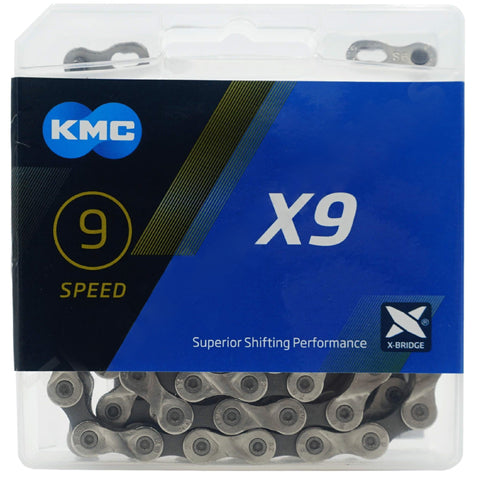 KMC X9 9 Speed Chain - TheBikesmiths