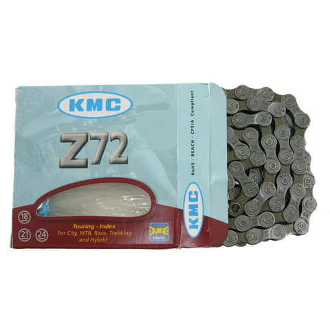 Image of KMC Z72 6-8 Speed Gray Chain