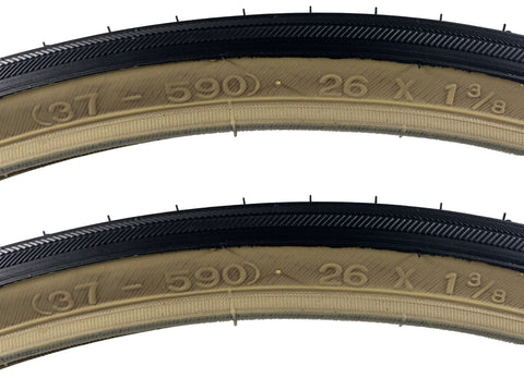 Image of Kenda K40 26x1-3/8 37-590 ISO Tire