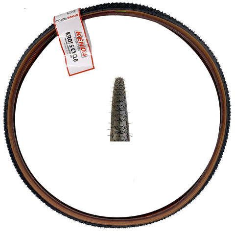 Image of Kenda Kross Cyclo 700x35 Mocha Sidewall Tire