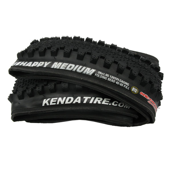 Kenda K1083A Happy Medium 26x1.95 Folding Tire - Single