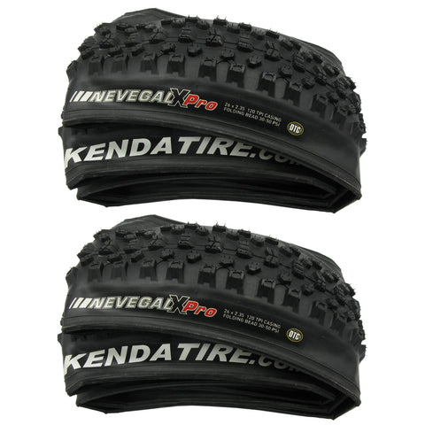Image of Kenda K1150 Nevegal X PRO 26x2.35 Folding Tire - 2 Pack