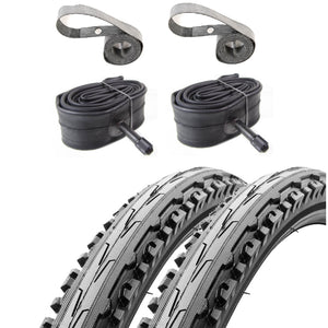 Kenda Kross Plus K847 26-inch Tire Tube & Rim Strip Kit - TheBikesmiths