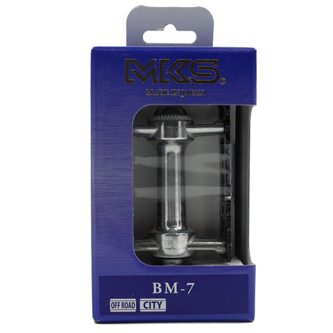 Image of MKS BM-7 Alloy BMX Platform Pedals - TheBikesmiths