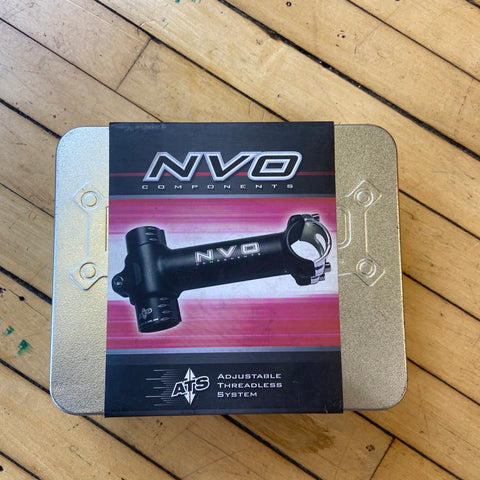 Image of NVO Components Adjustable Threadless Stem 110mm