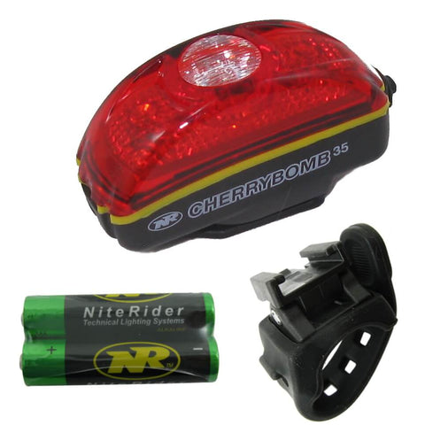 Image of NiteRider 5080 Cherrybomb 35 Lumen AAA Battery Taillight