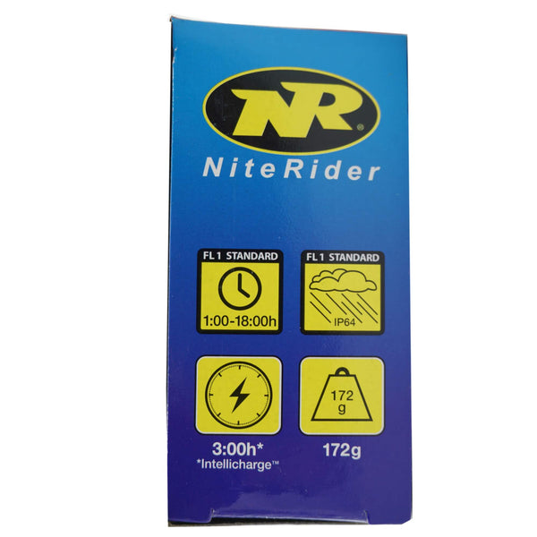 Niterider 6781 Lumina 1200 Boost Rechargeable Headlight