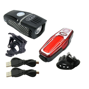 Niterider 6793 Lumina Micro 850 Headlight Sabre 80 Rechargeable Tail Light Combo - TheBikesmiths