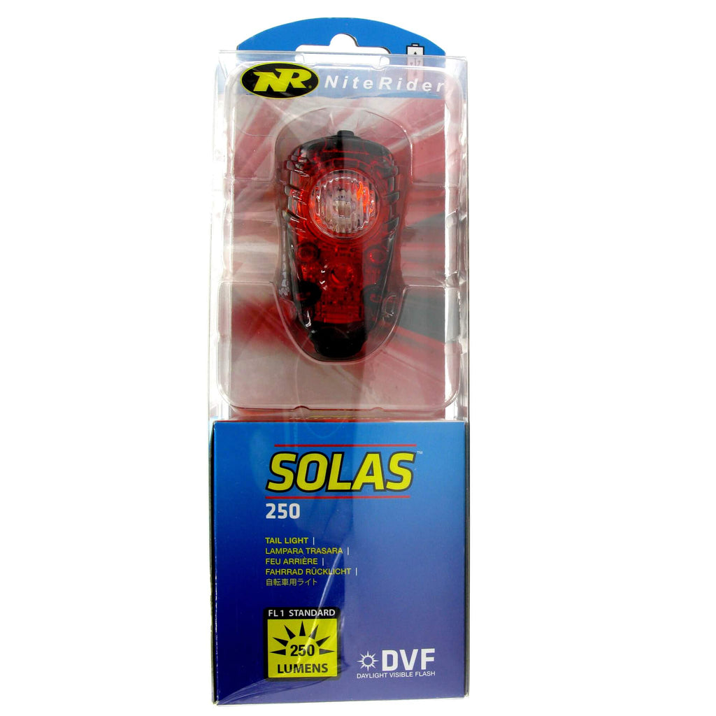Niterider Solas 250 Rechargeable Taillight - TheBikesmiths