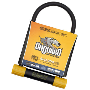 OnGuard 8011 Bulldog 127mm x 230mm Key U-Lock - TheBikesmiths