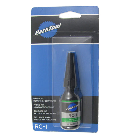 Image of Park Tool RC-1 Green Press Fit Retaining Compound 10ml - TheBikesmiths