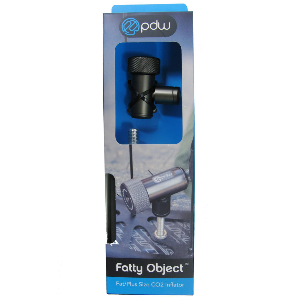 PDW Fatty Object Co2 Inflator with 38g Padded Cartridge - TheBikesmiths