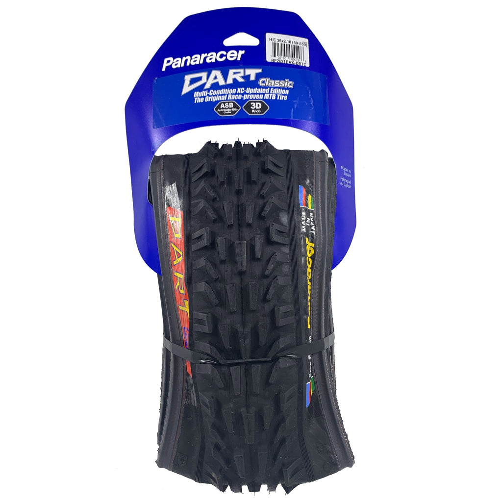 "Panaracer 26x2.10"" Dart Front / Smoke Rear Folding Mountain Bike Tire"