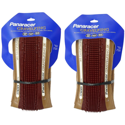 Panaracer Gravel King SK TLC Limited Edition 700c Tubeless Ready Tire - 2 Pack