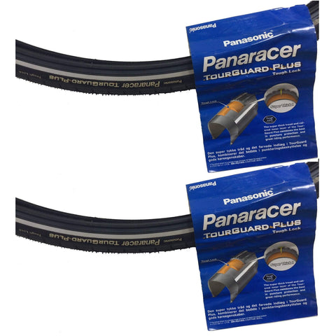 Image of Panaracer Tourguard Plus 26-inch Street and Path Tire with Reflective Safety - TheBikesmiths