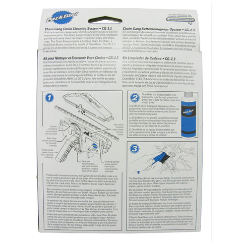 Park Tool CG-2.3 Bike Chain Gang Cleaning System