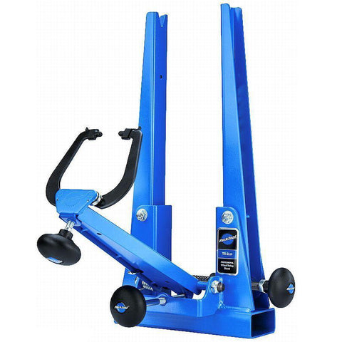 Park Tool TS-2.2P Powder Coated Blue Truing Stand - TheBikesmiths