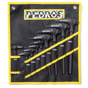 Pedro's Pro TL 9-Piece Metric Hex Wrench Set