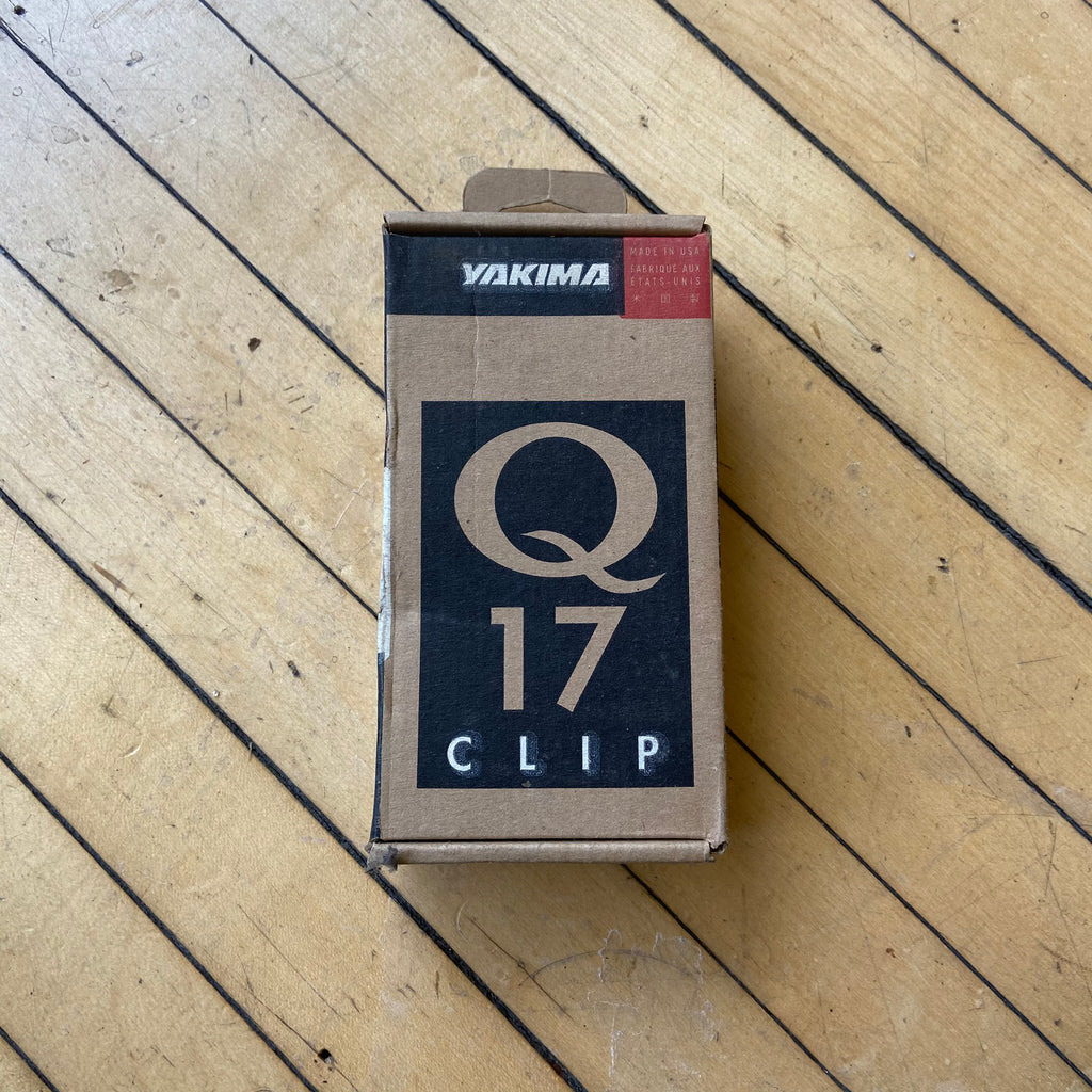New Old Stock Yakima Q-Clips for Bike Rack