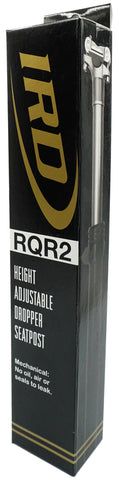 IRD RQR2 31.6x400 Height Adjustable Dropper Seat Post (0/45/90) - TheBikesmiths