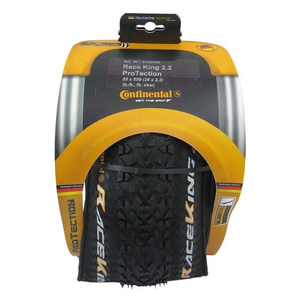 Continental Race King ProTection 26x2.2 Tubeless Ready Folding Tire - Single - TheBikesmiths