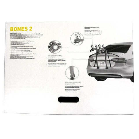 Saris Bones 2 Car Trunk Rack