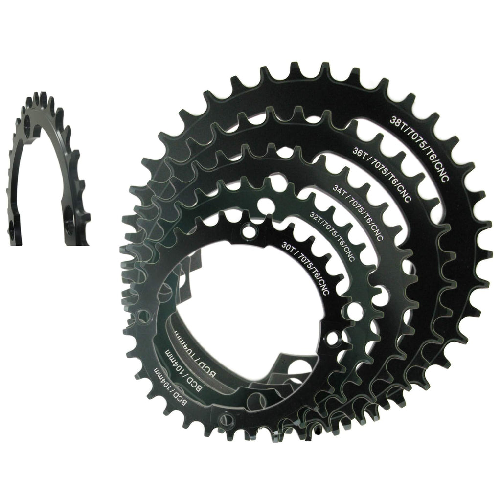Shun MTB-03 Narrow Wide 104mm BCD Chainring